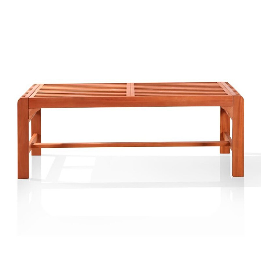Shop Vifah 18 In W X 48 In L Patio Bench At
