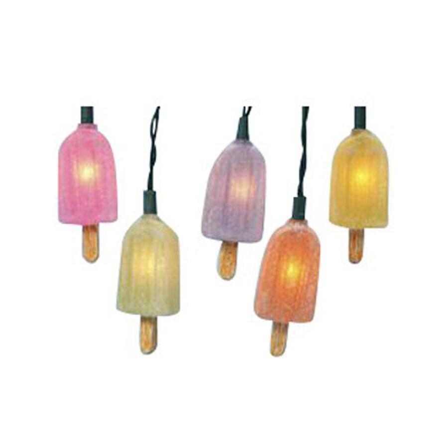 String Lights No Plug : Shop Christmas Central 12.5-ft 10-Light Multicolor Tinted Plastic-Shade Plug-In String Lights at ...
