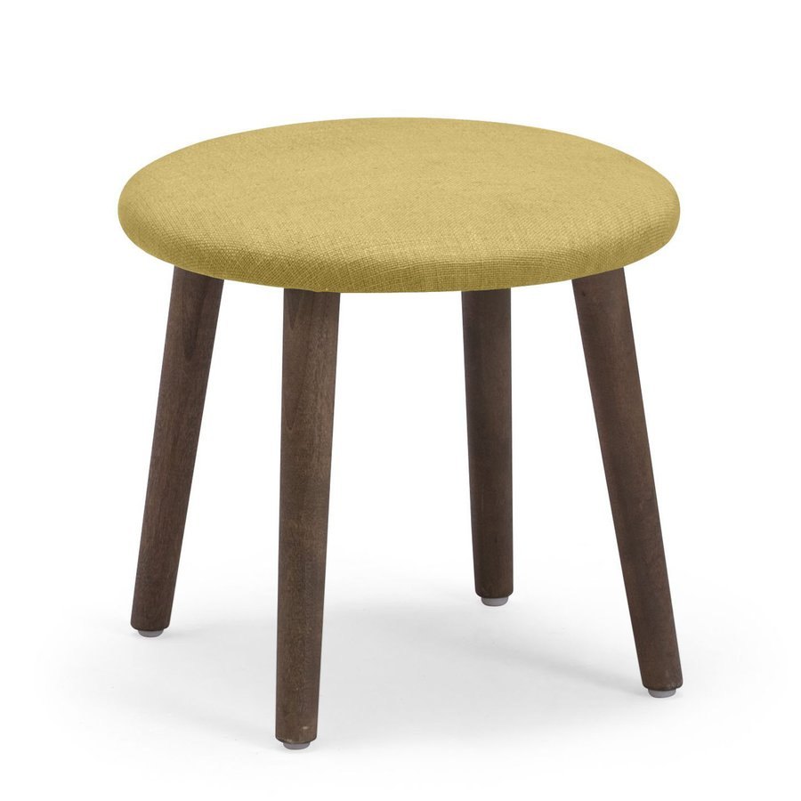 Zuo Modern Edgewater Lime 13.4-in Small Stool