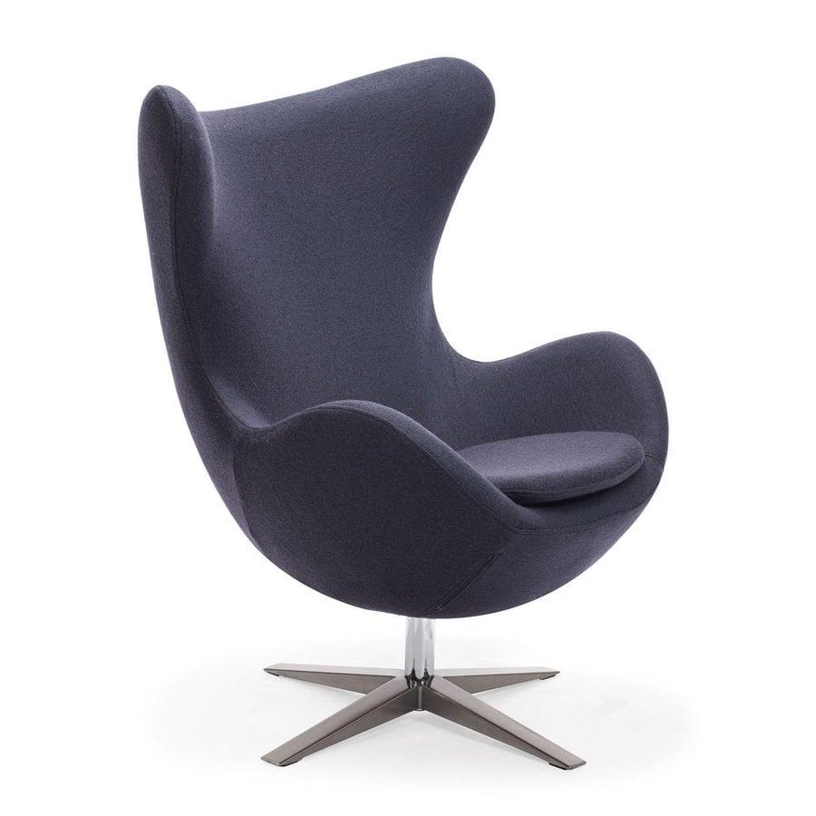 Zuo Modern Iron Gray Accent Chair