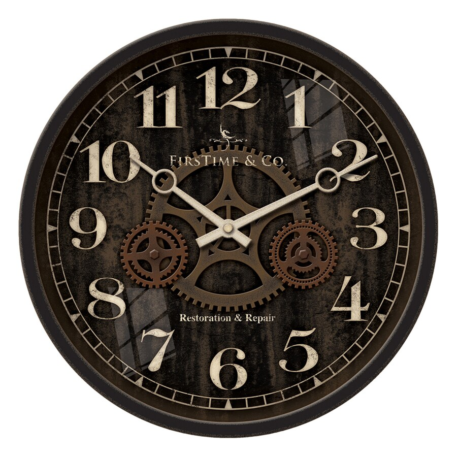 Shop Firstime Manufactory Industrial Gears Analog Round