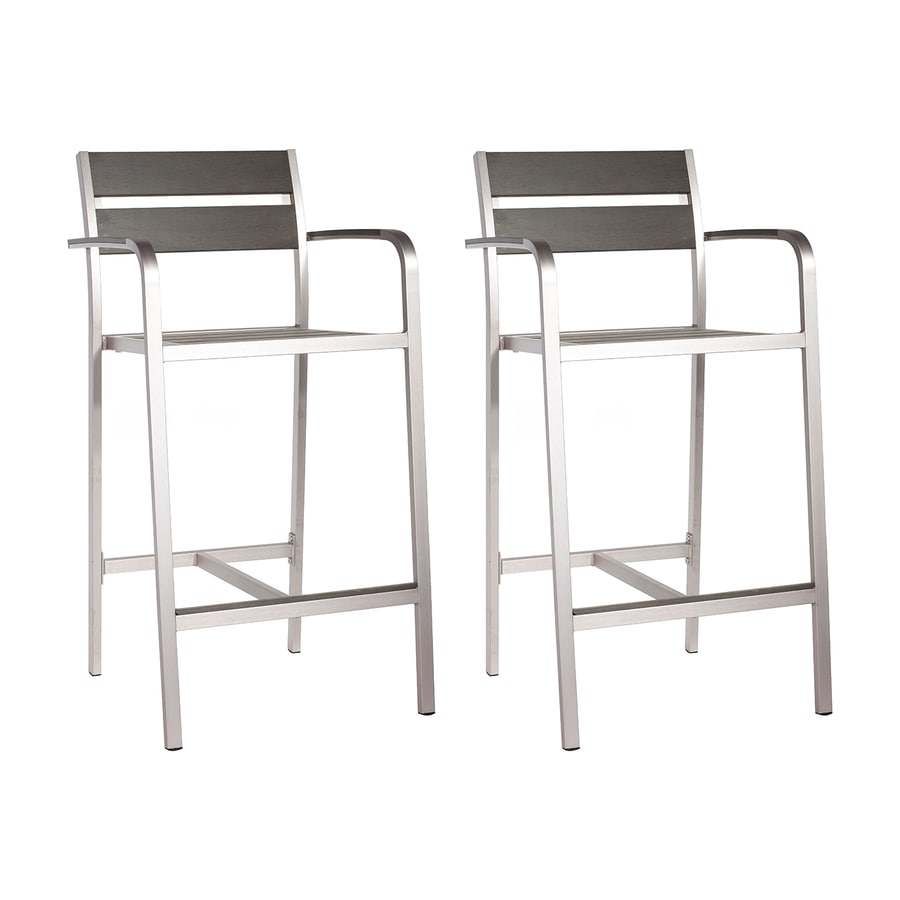 Zuo Modern Megapolis Patio Barstool Chair