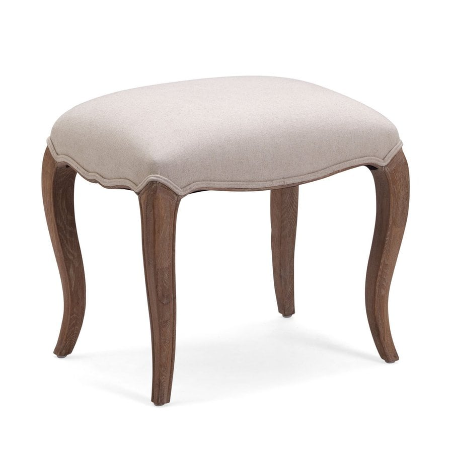 Zuo Modern Madrona Beige Rectangle Ottoman