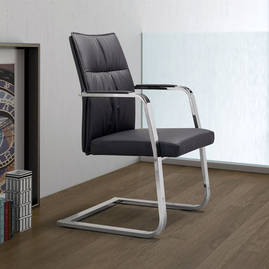 Zuo Modern Dean Black Reception Chair