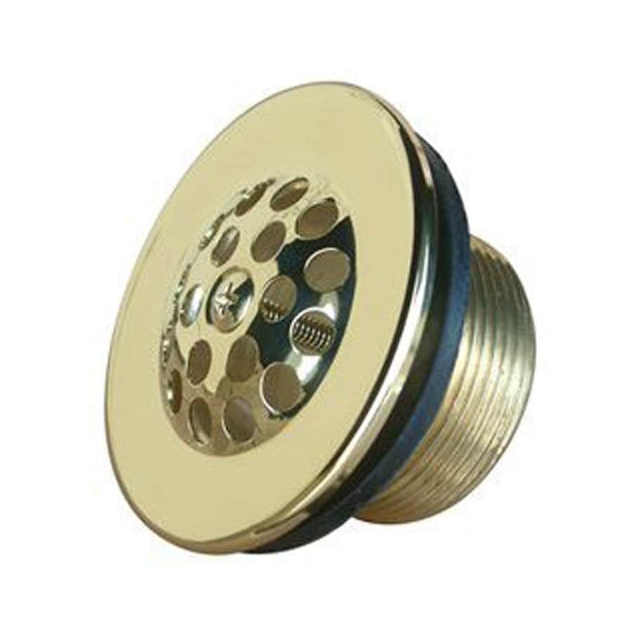 Elements of Design 2-in Polished Brass Strainer