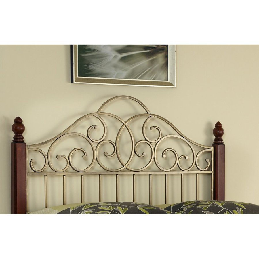 Home Styles St. Ives Cinnamon Cherry/Aged Gold Full/Queen Headboard