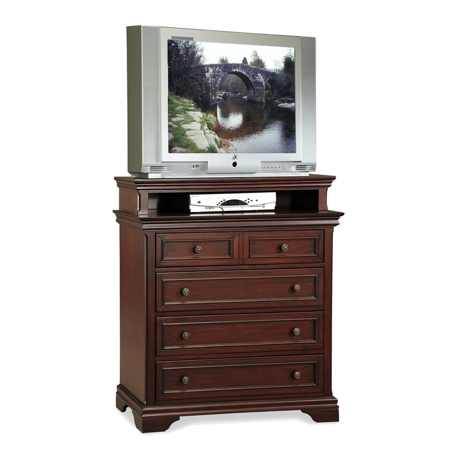 Home Styles Lafayette Rich Cherry Media Chest