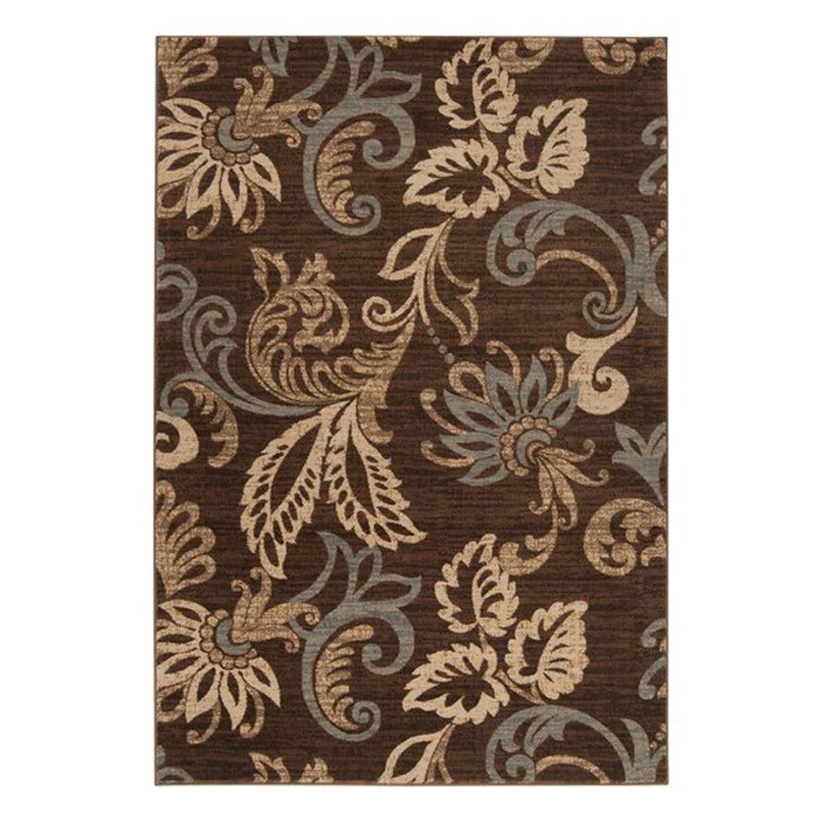 Surya Riley Rectangular Indoor Machine-Made Nature Area Rug (Common: 5 x 8; Actual: 63-in W x 84-in L)