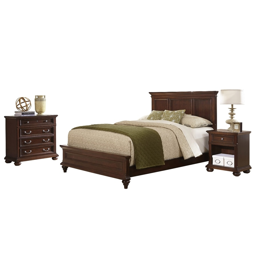 Home Styles Colonial Classic Dark Cherry Queen Bedroom Set