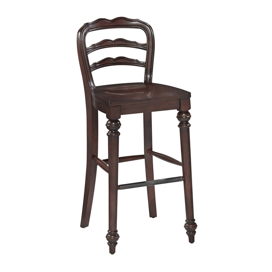 Home Styles 1 Colonial Classic Dark Cherry 29-in Bar Stool
