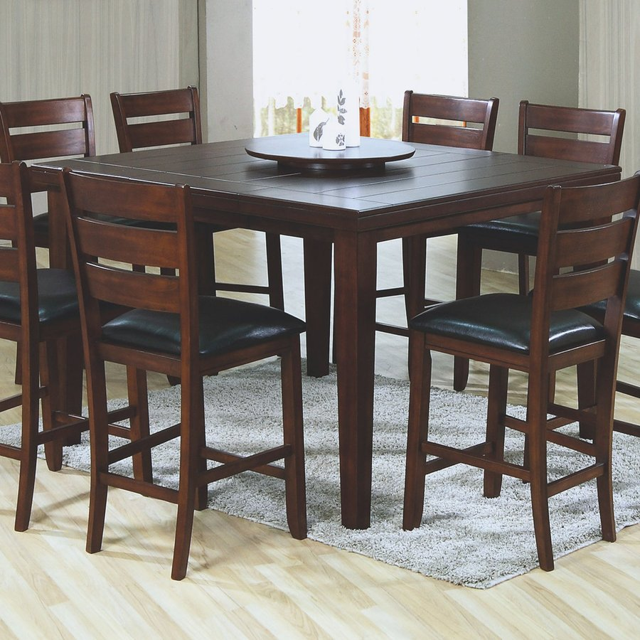 Monarch Specialties Dark Oak Rectangular Dining Table