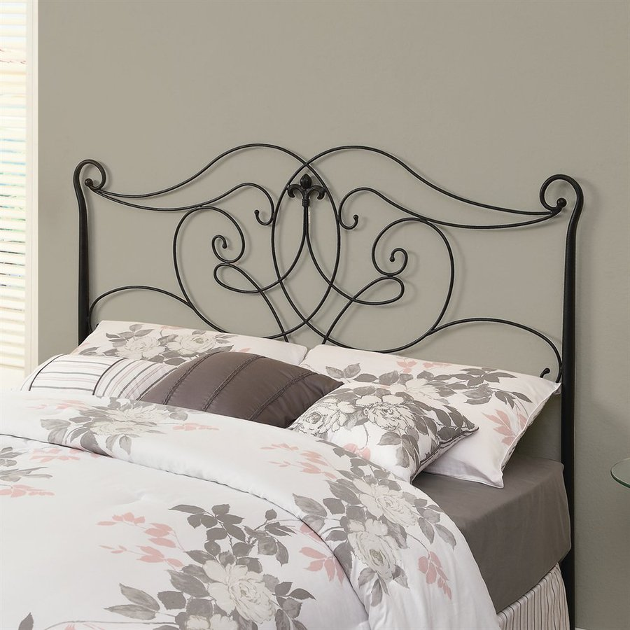 Monarch Specialties Black Full/Queen Headboard