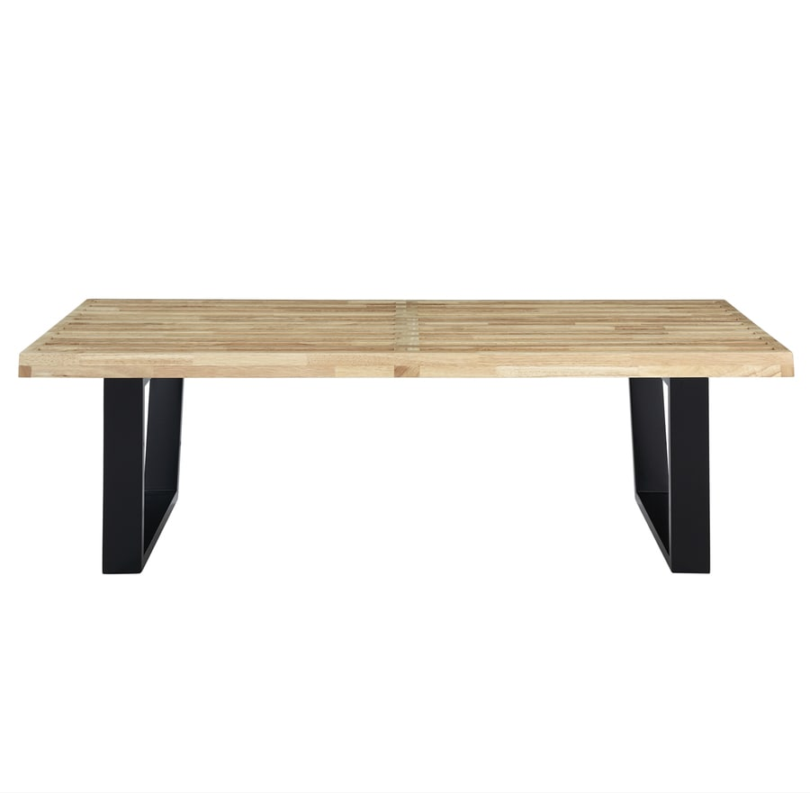 Modway Natural Composite Rectangular Coffee Table