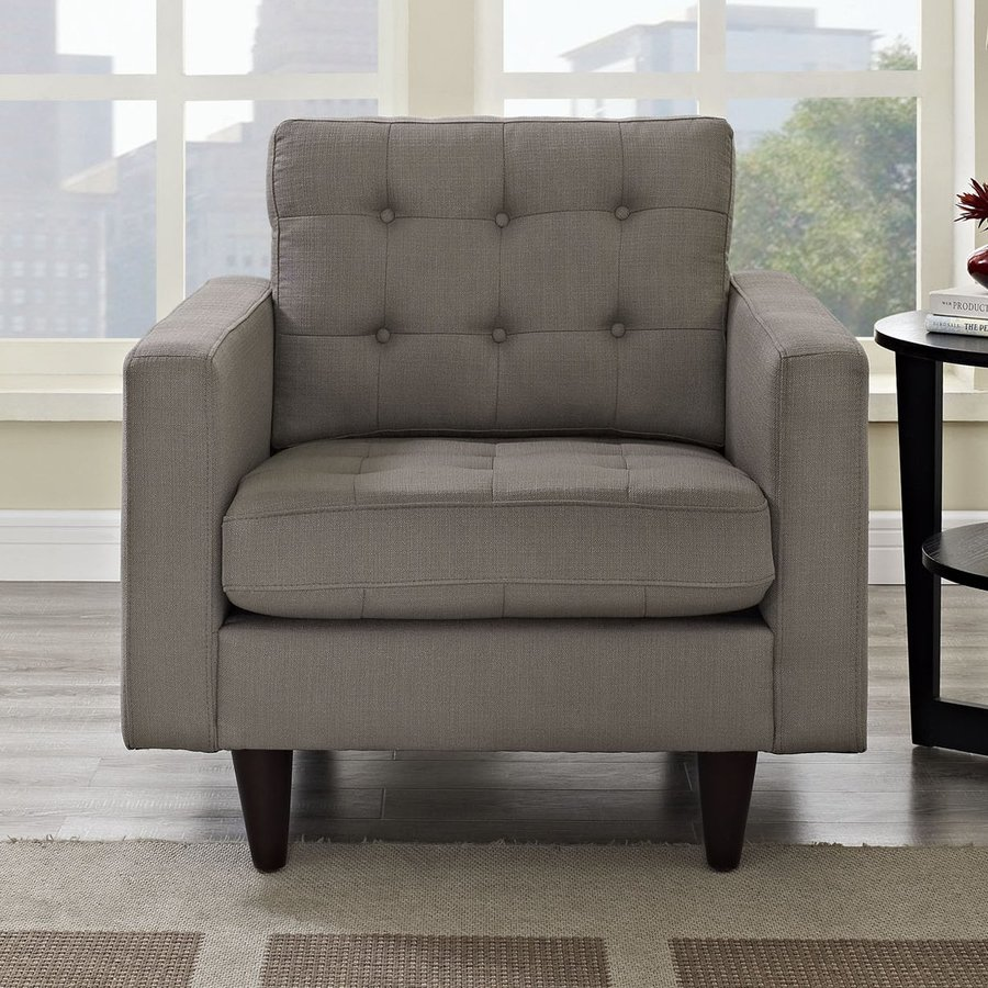 Modway Empress Granite Accent Chair