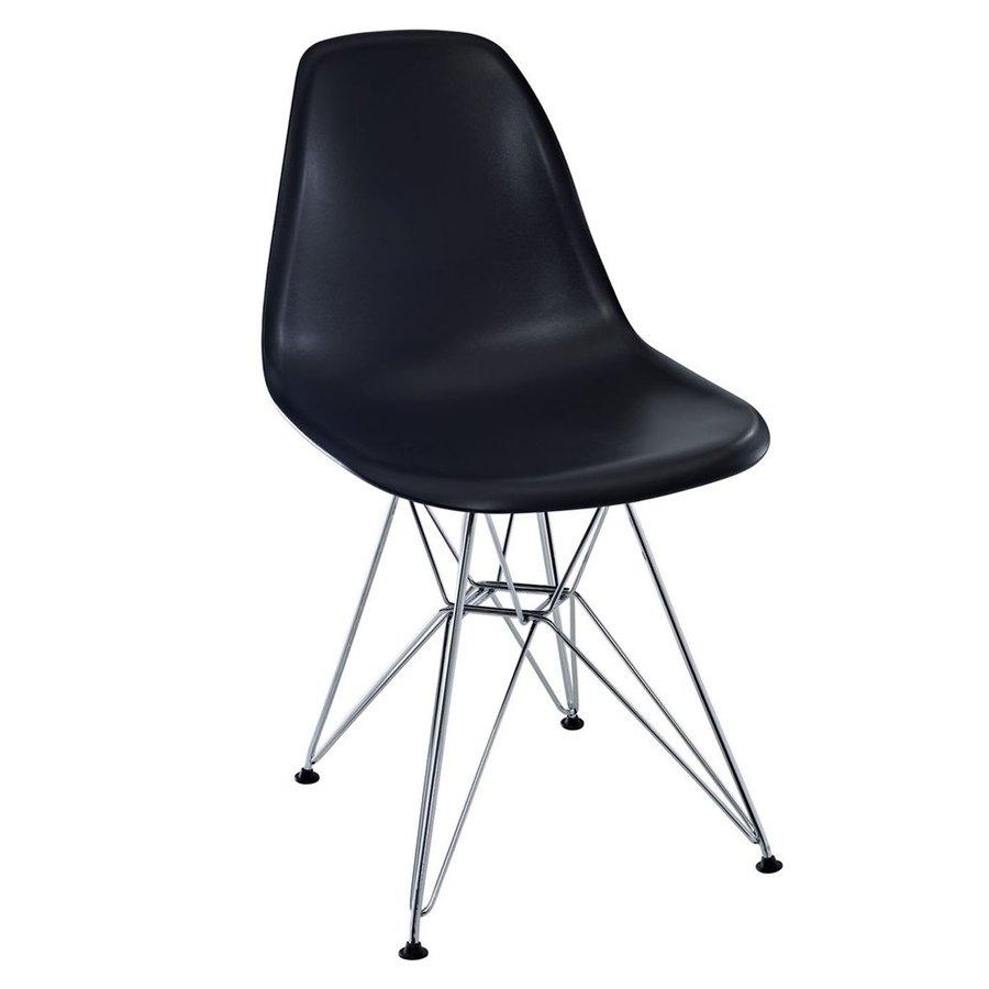Modway Paris Black Side Chair