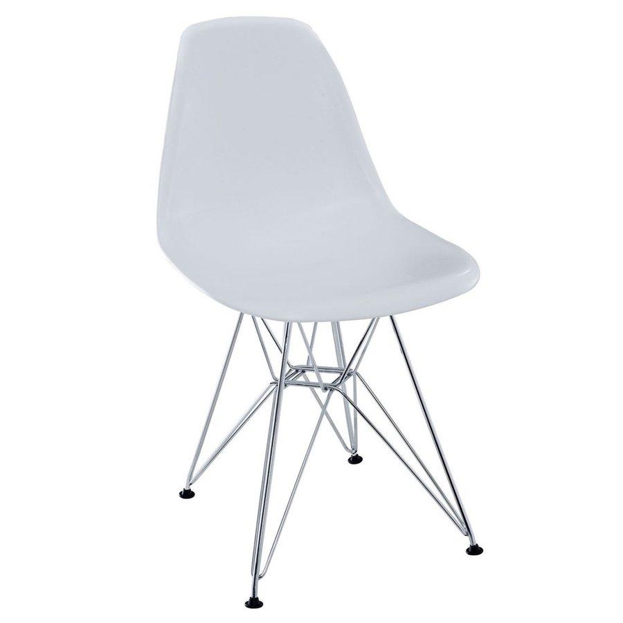 Modway Paris White Side Chair