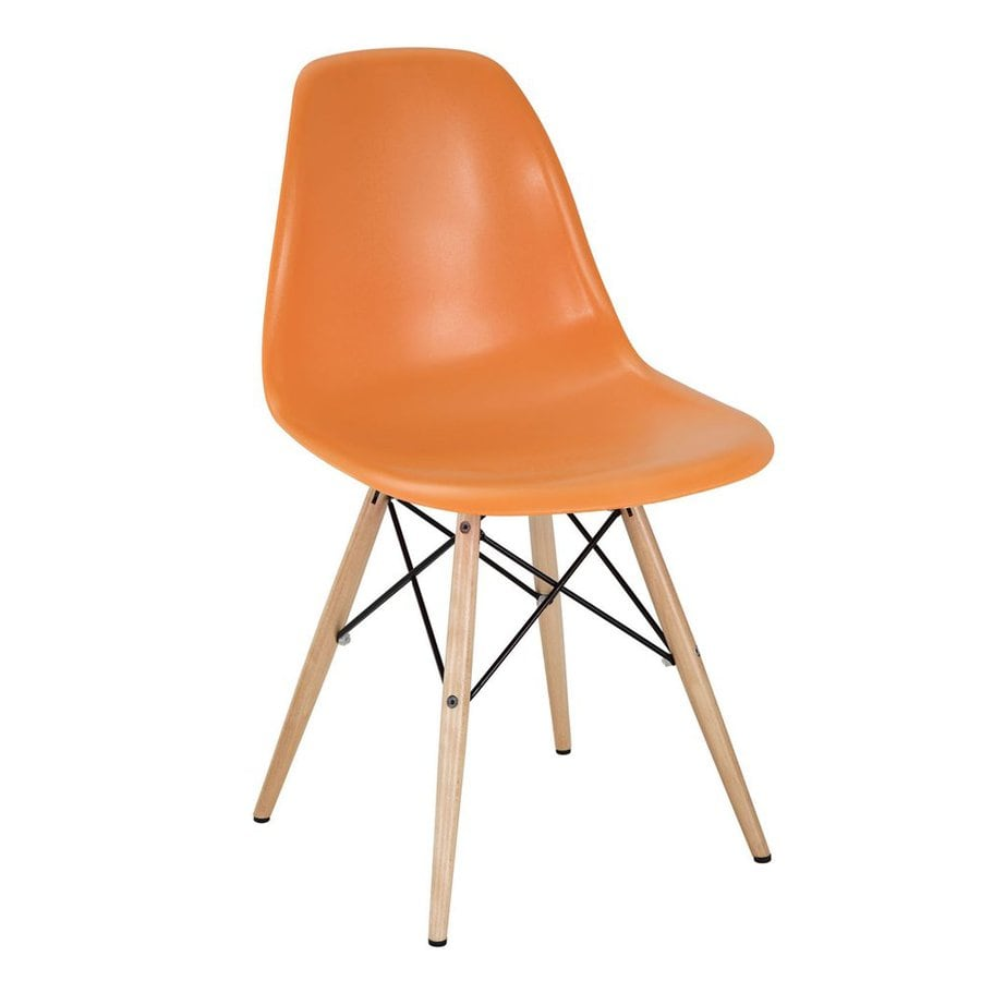 Modway Pyramid Orange Side Chair