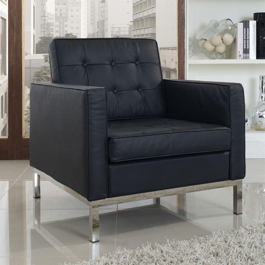 Modway Loft Black Accent Chair
