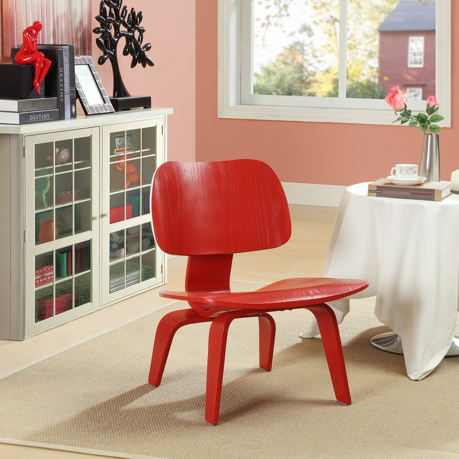 Modway Fathom Red Accent Chair