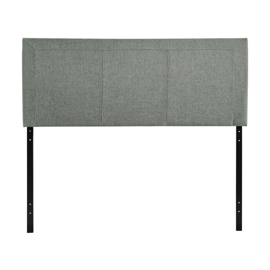 Modway Isabella Gray Queen Linen Upholstered Headboard