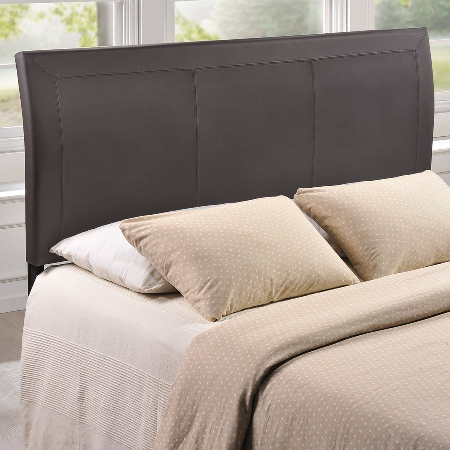 Modway Isabella Brown Queen Vinyl Upholstered Headboard