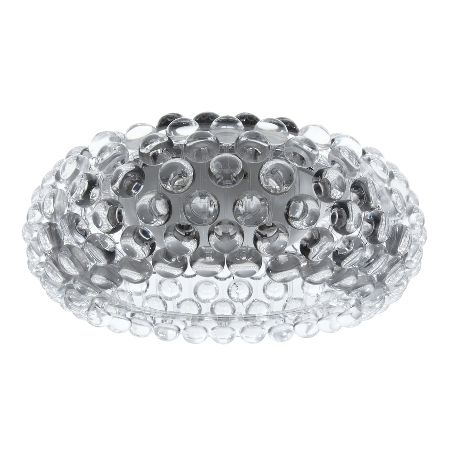 Modway Halo 19.5-in W Clear Ceiling Flush Mount Light