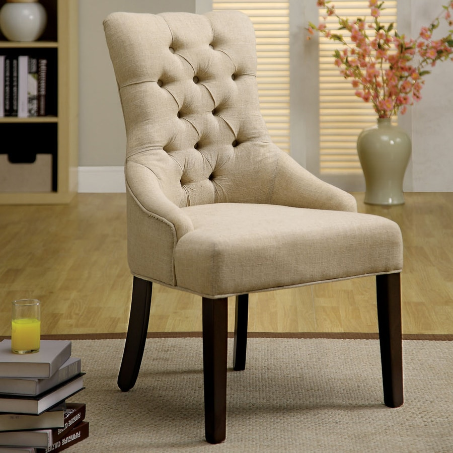 Furniture of America Set of 2 Sala Espresso Accent Chairs