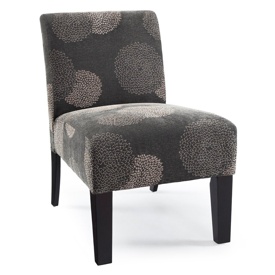 DHI Deco Grey Sunflower Accent Chair