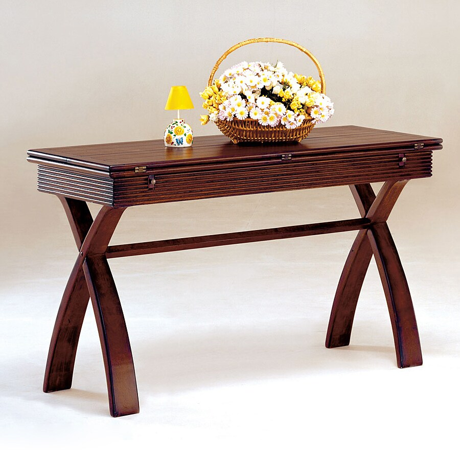 Furniture of America Kingston Dark Cherry Rectangular Console and Sofa Table