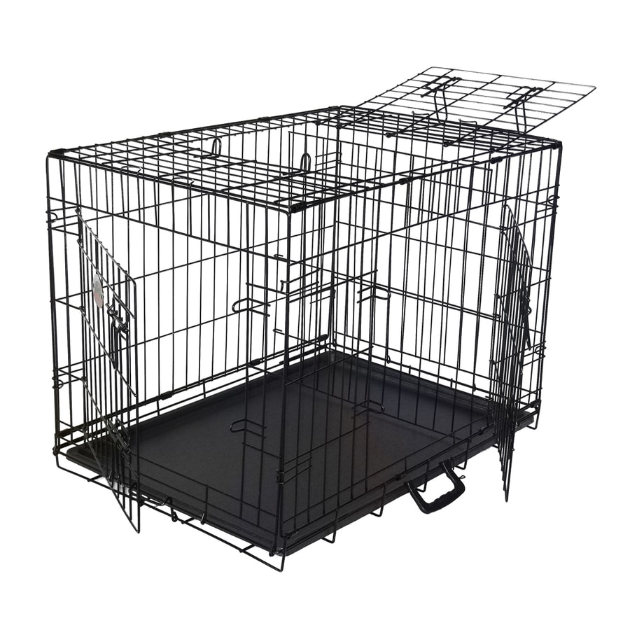 Go Pet Club 3.5-ft x 2.333-ft x 2.5-ft Outdoor Dog Kennel Preassembled Kit