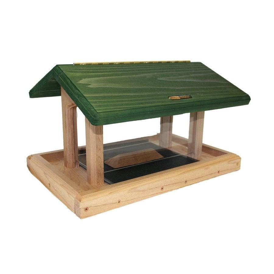 Shop Birds Choice Cedar 6-Quart Hopper Bird Feeder At