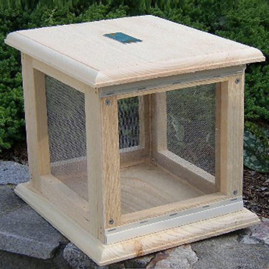 Coveside Conservation Freestanding Wood Butterfly House