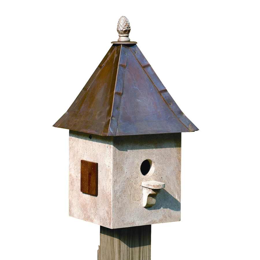 Heartwood 10-in W x 21-in H x 10-in D Old World Bird House