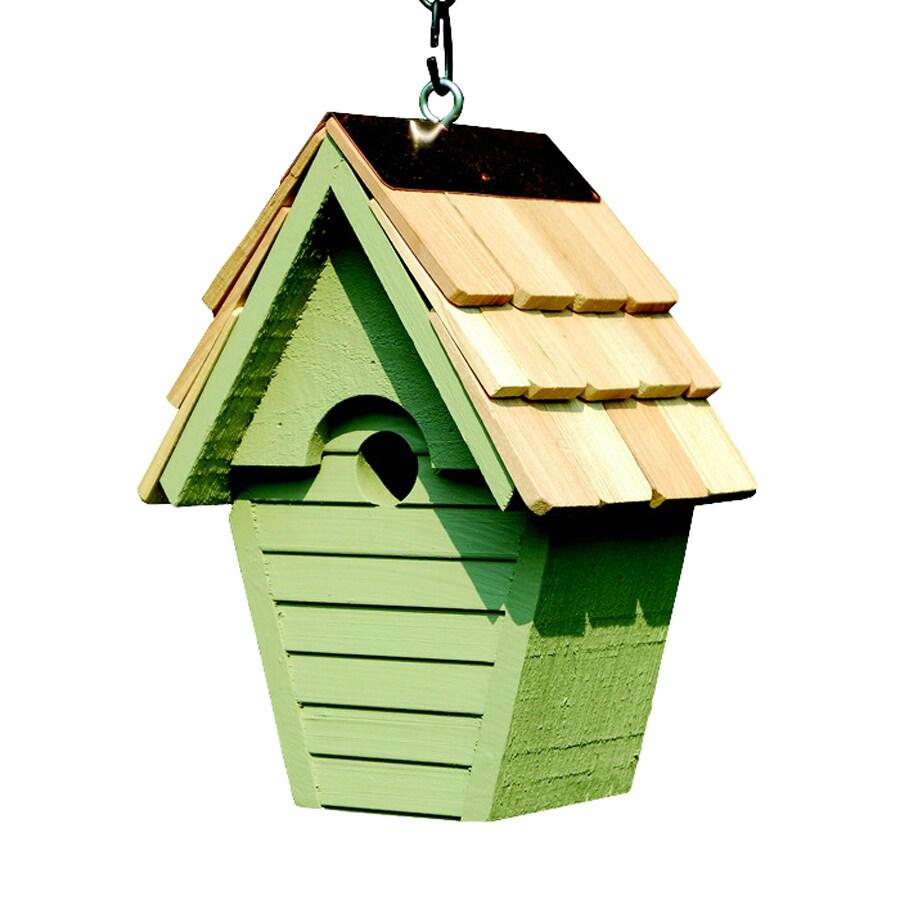 Heartwood 8-in W x 12-in H x 6-in D Celery Bird House