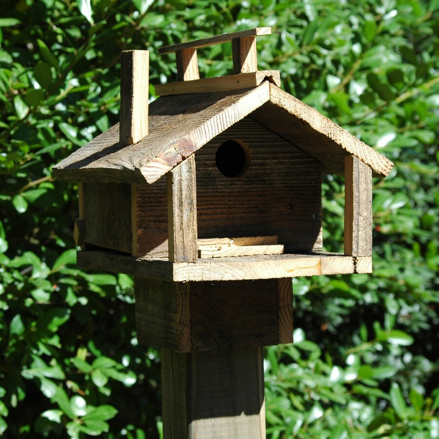 Wilderness Series Products 10-in W x 12-in H x 12-in D Natural Bird House