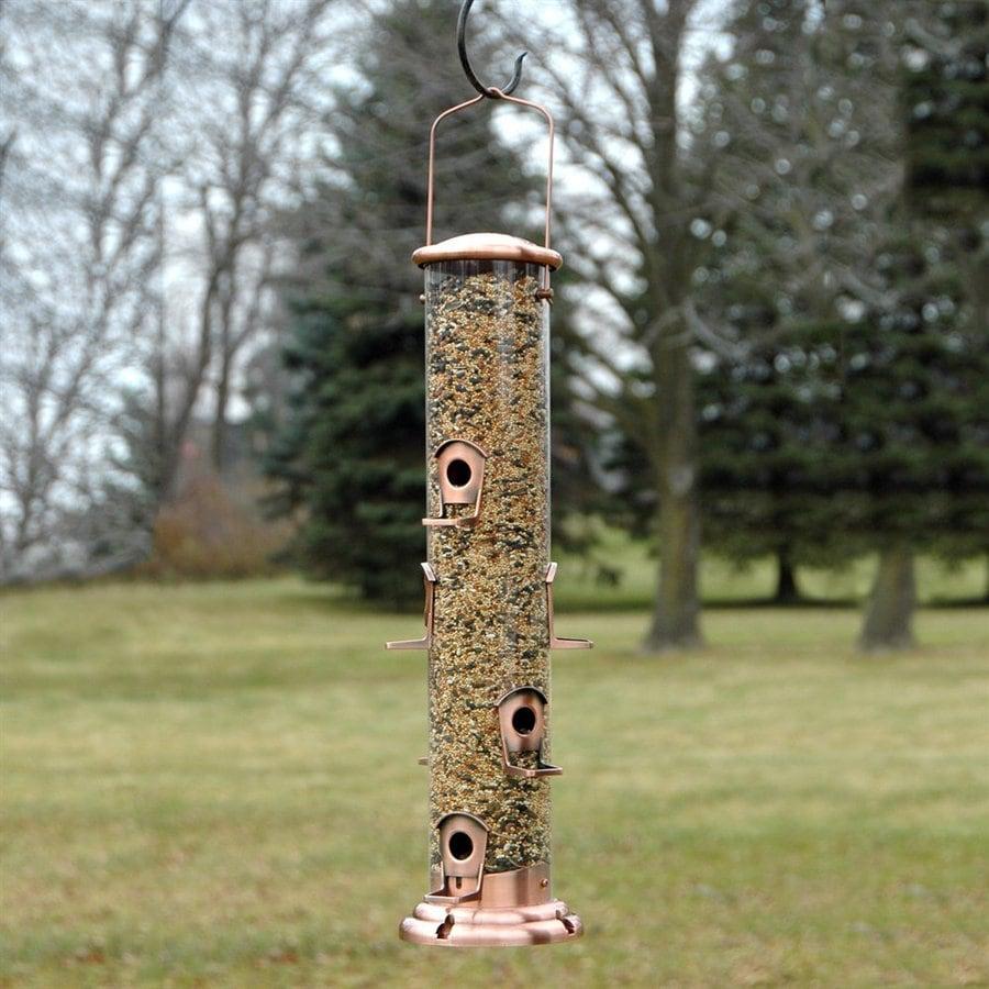 WoodLink Coppertop® Copper Tube Bird Feeder