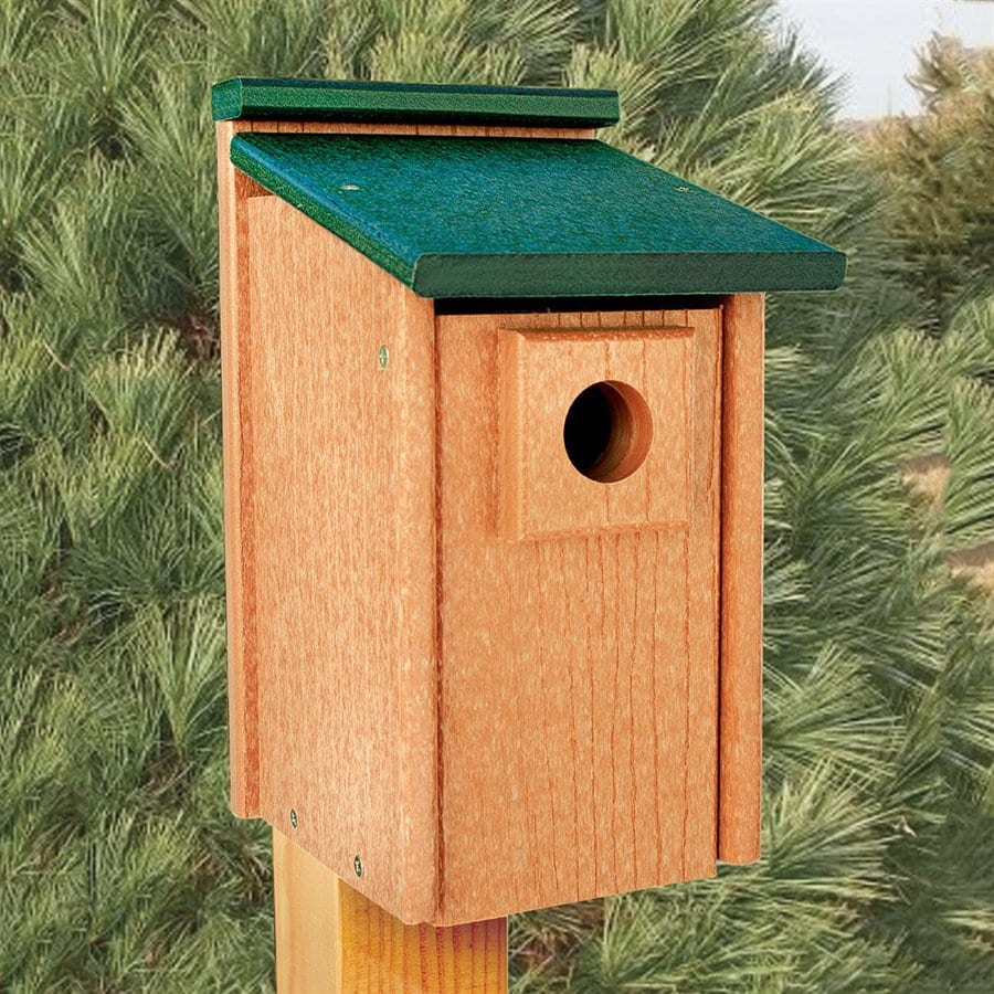 WoodLink 8.25-in W x 12.5-in H x 7-in D Bird House