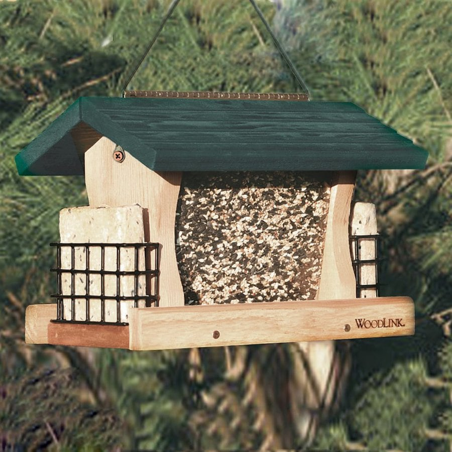 WoodLink Cedar Hopper Bird Feeder