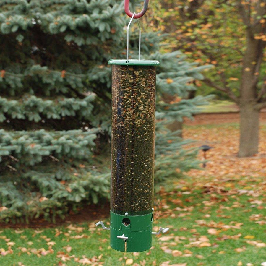 WoodLink The Bouncer Metal Squirrel-Resistant Tube Bird Feeder