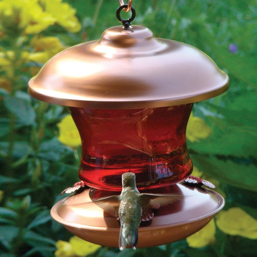 Shop Woodlink Metal Hummingbird Feeder At Lowes Com
