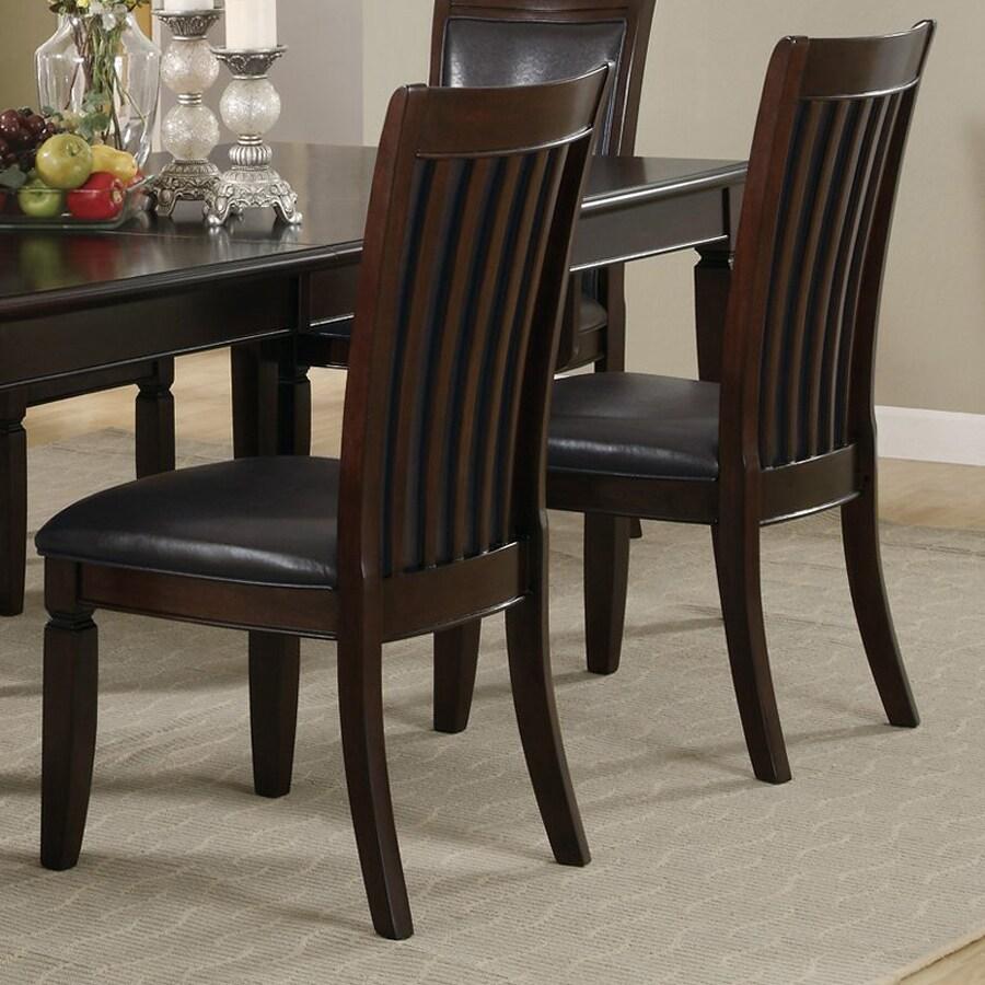 Coaster Fine Furniture 2 Ramona Walnut Side Chairs