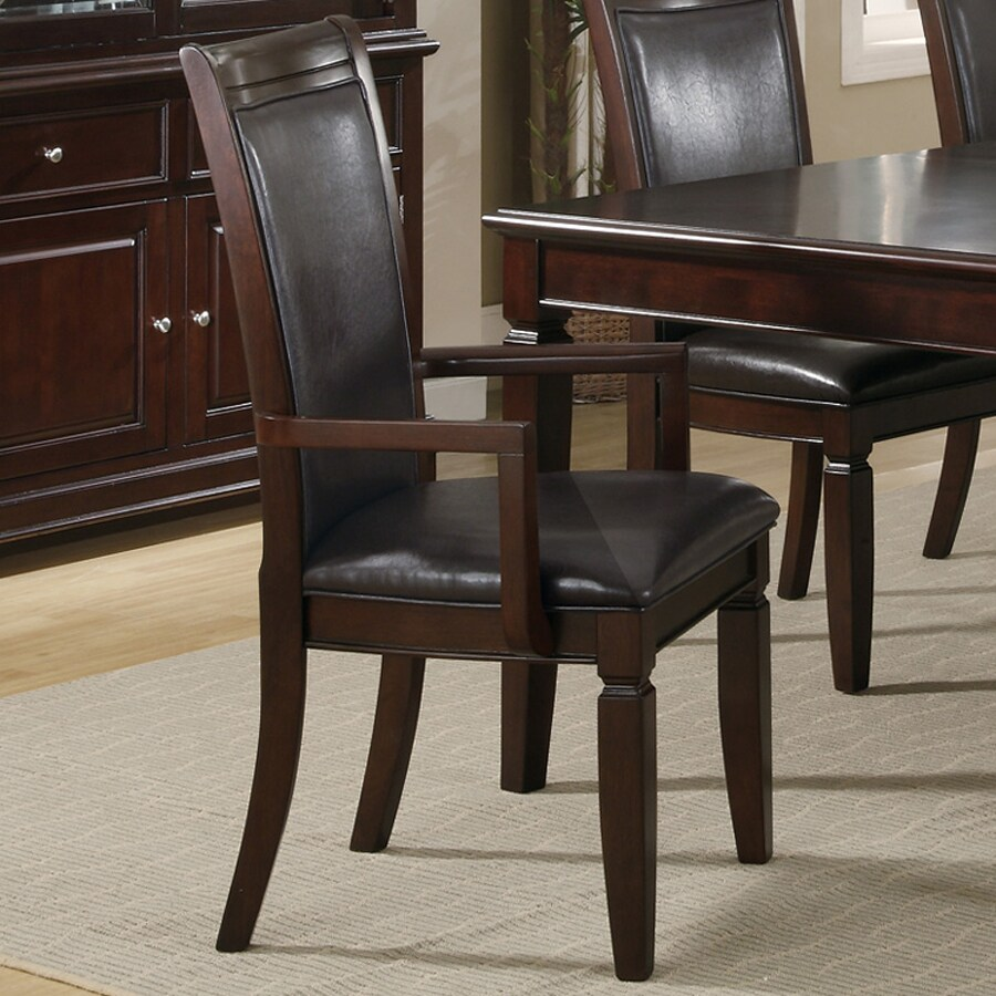 Coaster Fine Furniture 2 Ramona Walnut Arm Chairs