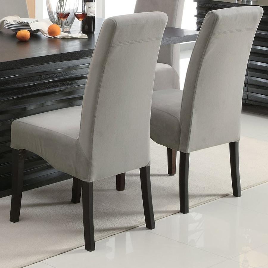 Coaster Fine Furniture 2 Stanton Black Side Chairs