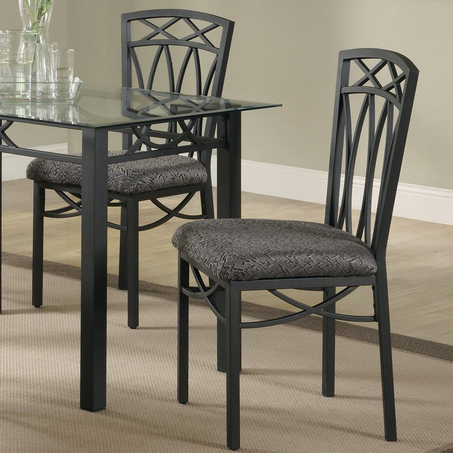 Coaster Fine Furniture 4 Black Side Chairs