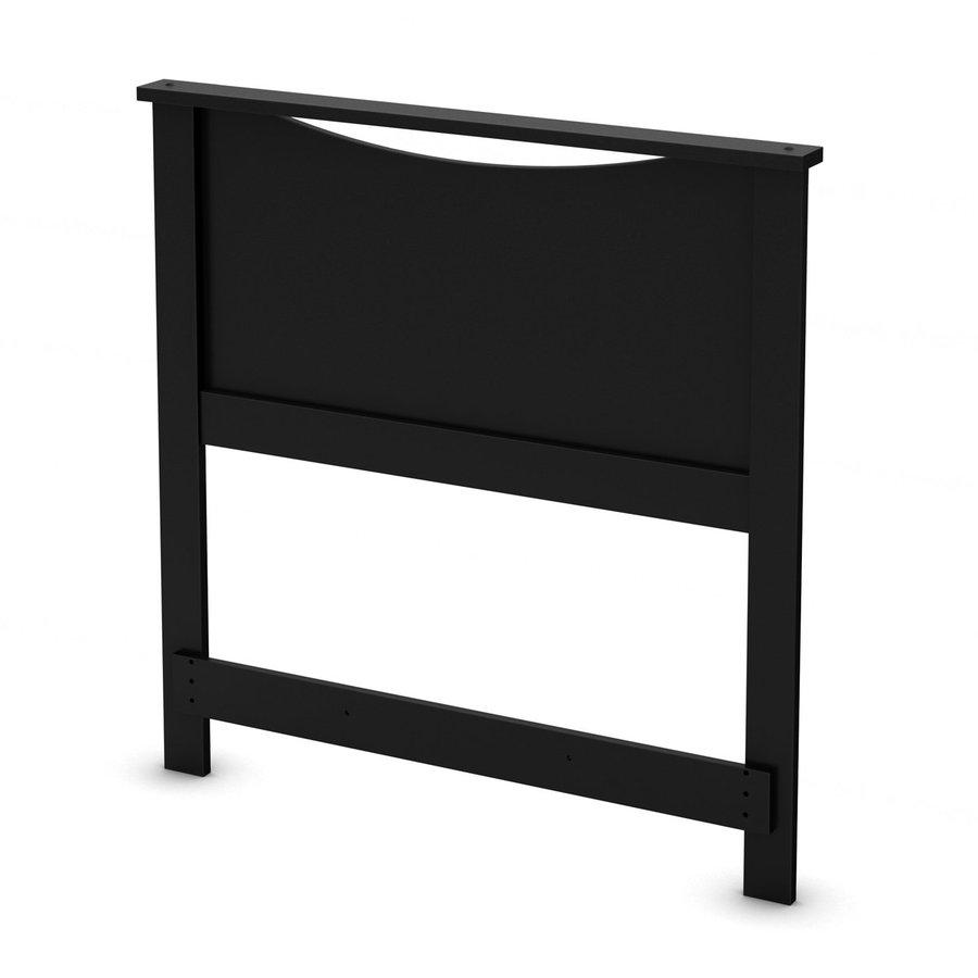 South Shore Furniture Step One Pure Black Twin Headboard