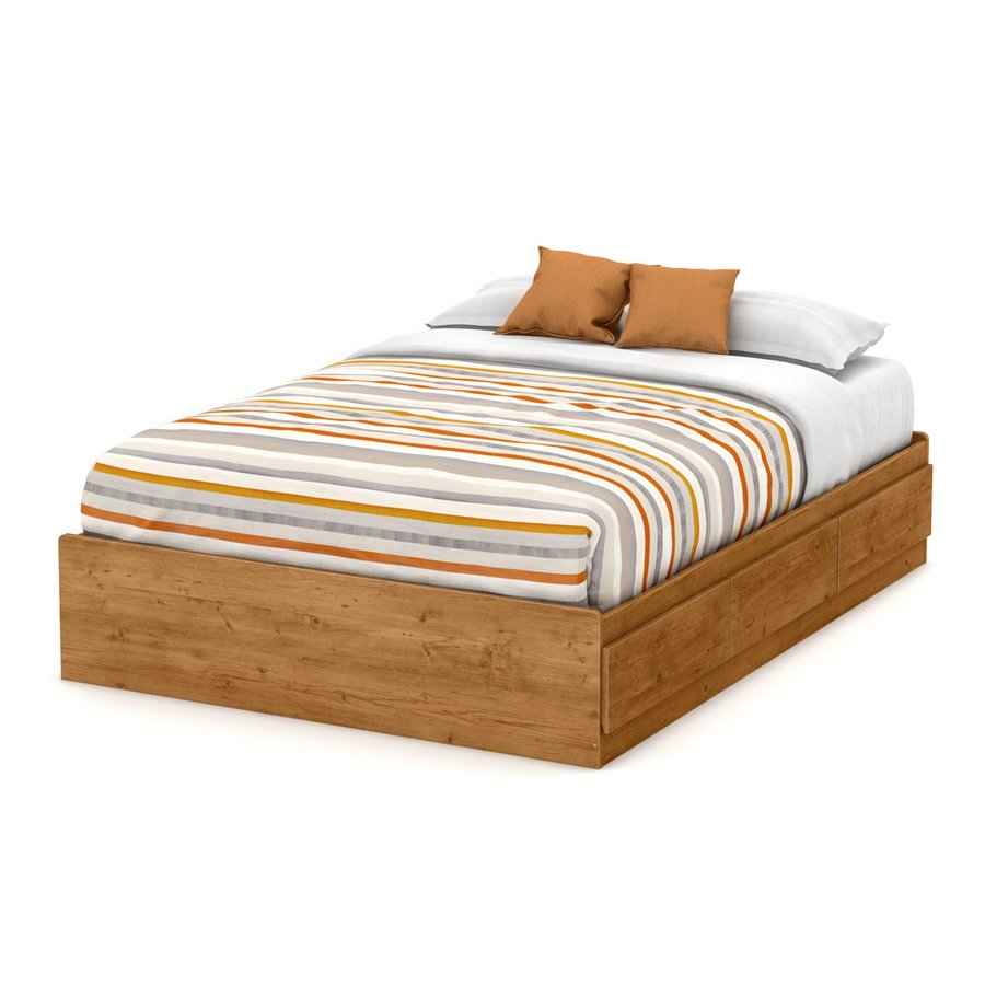South Shore Furniture Little Treasures Country Pine Full Platform Bed