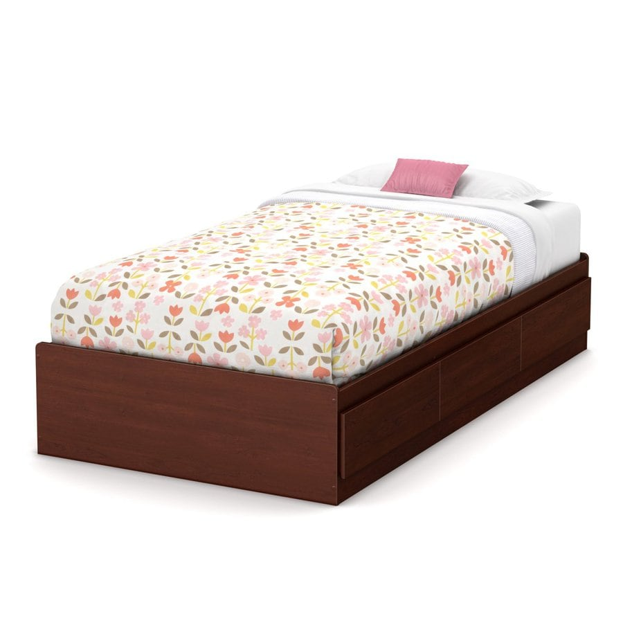 South Shore Furniture Summer Breeze Royal Cherry Twin Platform Bed