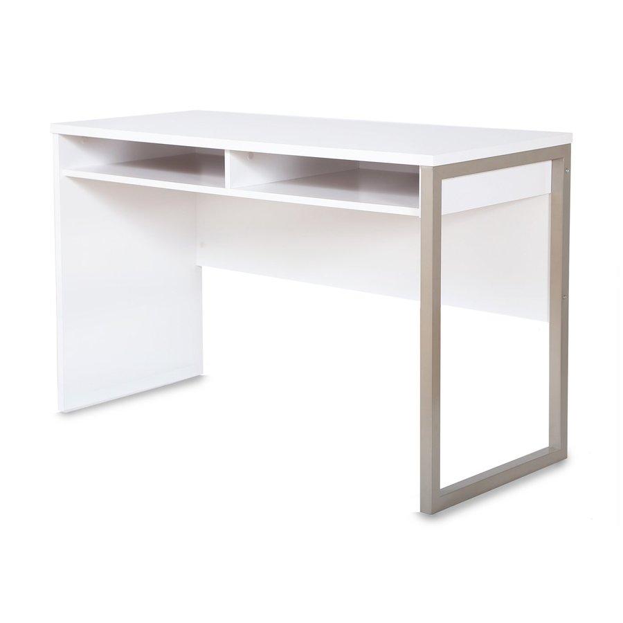 South Shore Furniture Interface Pure White Laptop Desk