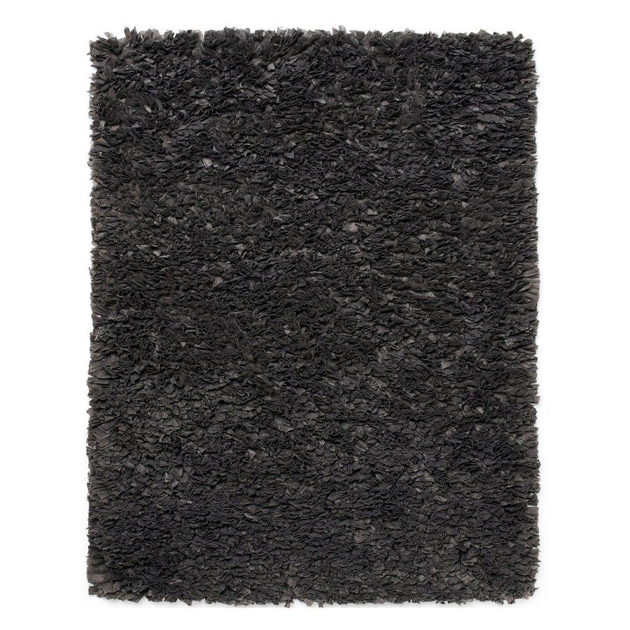 Anji Mountain Paper Shag Rectangular Indoor Oriental Area Rug (Common: 4 x 6; Actual: 48-in W x 72-in L)