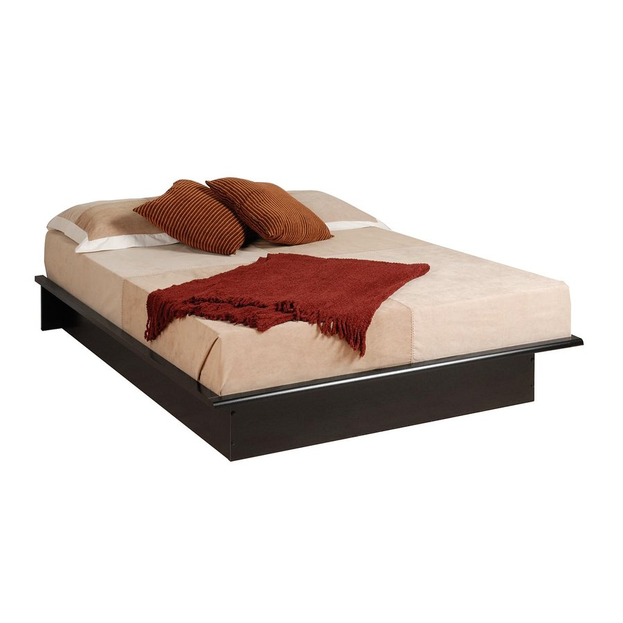 Shop Prepac Furniture Black Queen Platform Bed At